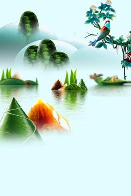 木船の背景図 , 小さい木船, 川, 丘 背景画像