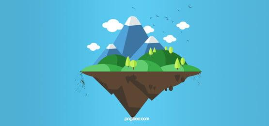 ツリー 水 景観 列島 背景, 空, 湖, 旅行 背景画像