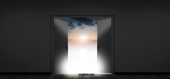 background decoration door to heaven, Door, Open, Heaven Background image