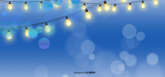 Gorgeous Fantasy Hazy Blue Background, Blue, Light, Bulb, Background image