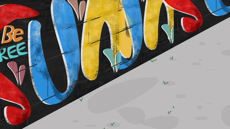 Graffito Graffiti Art Photography Hd Picture On The Wall, Hd, Photography, Big, Background image