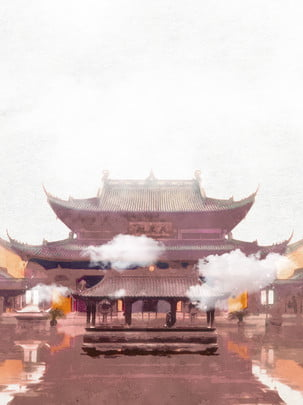 像 宗教 島 彫刻 背景 , 寺院, 神, 古代 背景画像