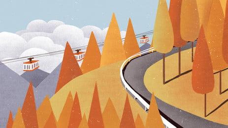 jalan kereta di latar belakang, Lebuh Raya, Hijau, Fotografi imej latar belakang