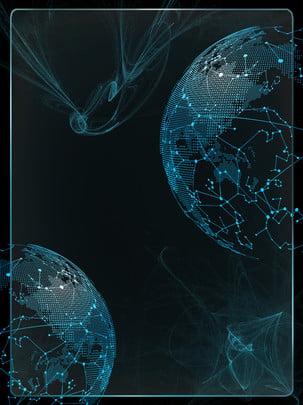 sains dan teknologi biru latar belakang tangan , Sains Dan Teknologi, Biru, Tangan imej latar belakang