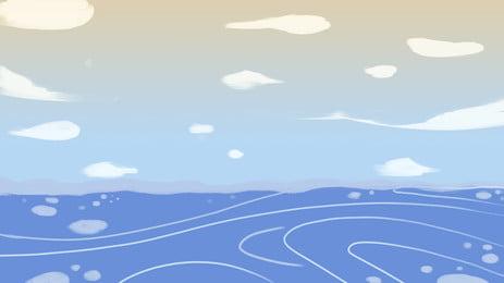 海 海 ビーチ 水の体 背景 水 熱帯 空 背景画像