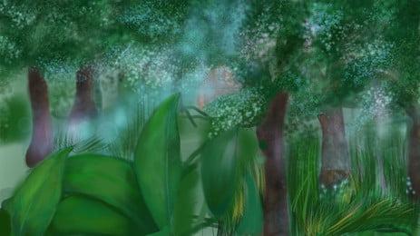 ツリー ポプラ 森 木質植物 背景, 木, 維管束植物, 秋 背景画像