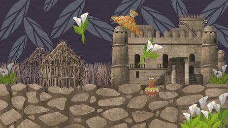 дворец замок архитектура башня справочная информация река здание город Фоновое изображение