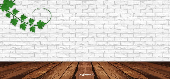 fresh white brick wall and green plants background, White, Brick, Wall Background image