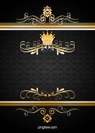 Frame Floral Fronteira Arte Background Design Padrão Vintage Imagem Do Plano De Fundo