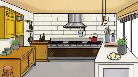 रेस्तरां पृष्ठभूमि, रेस्तरां, फर्नीचर, घर की सजावट पृष्ठभूमि छवि