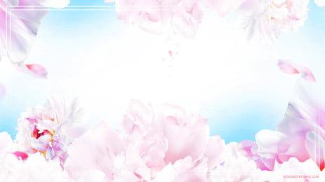 गुलदस्ता गुलदस्ता taobao बैनर, गुलदस्ता, गुलदस्ता, सुंदर पृष्ठभूमि छवि