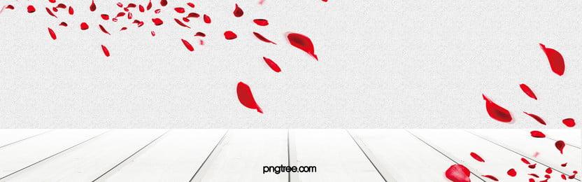 गुलाब की पंखुड़ियों taobao महिलाओं पृष्ठभूमि, रोमांटिक, गुलाब की पंखुड़ियों, तीन आयामी पृष्ठभूमि छवि