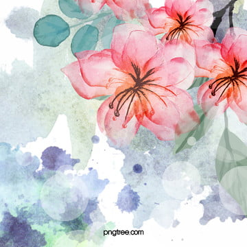 watercolor flower floral background , Art, Pattern, Texture Background image