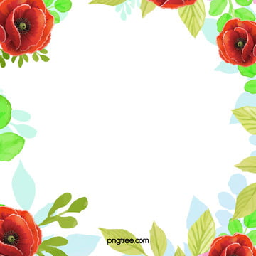 watercolor flower pattern frame background , Variable, Frame, Pattern Background image
