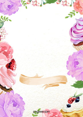 sweet cake flowers background , Sweet, Cake, Flowers Background image