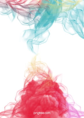 h5 fantasy watercolor background , Watercolor, Smoke, Dream Background image