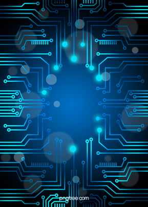 vector blue technology background circuit diagram , Blue, Geometry, Schematic Background image