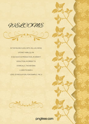 european style wedding invitations vintage pattern background , Continental, Retro, Pattern Background image