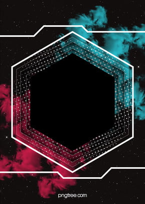 cool geometric poster background , Poster, Geometry, Hexagon Background image