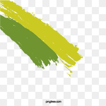 Vector Fresh Green Background Watercolor Brushes, Watercolor, Brush, Yellow-green, Background image