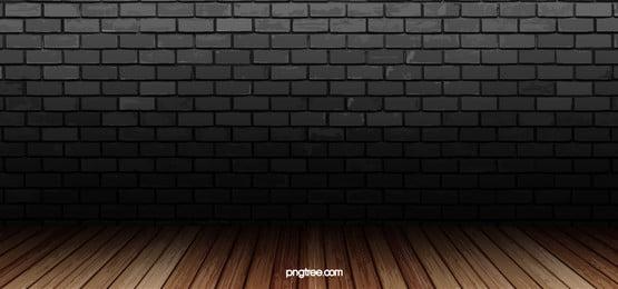 hitam dinding latar belakang tekstur banner, Hitam, Metope, Brick imej latar belakang