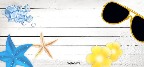 summer beach style background, Travel, Starfish, Sunglasses Background image