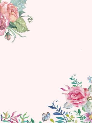 フローラル フラワー パターン 壁紙 背景 , 装飾, デザイン, 葉 背景画像
