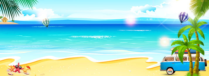 海陽射し島のポスター, 海面, 日光, 小島 背景画像