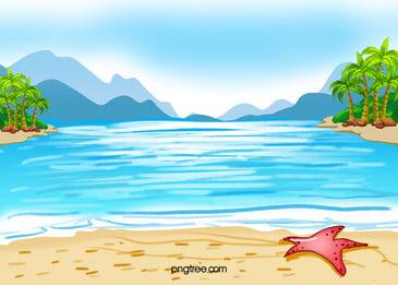 bãi biển bãi biển, Bãi Biển, Bãi Biển, Cây Dừa Ảnh nền