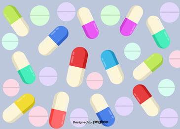 Candy Amêndoa Colorido Cor Background A Medicina Cor Imagem Do Plano De Fundo