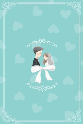 花嫁 新婚の 配偶者 アート 背景 , 漫画, レトロ, パターン 背景画像