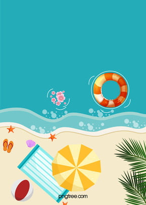 summer beach h5 background , Ocean, Sandy, Beach Background image