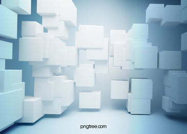 the stylish three dimensional box poster background, Fashion, Three-dimensional, Box Background image