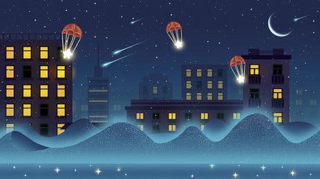 हलचल शहर रात को देखने पृष्ठभूमि, शहरी रात, हलचल, Hd की तरह पृष्ठभूमि छवि