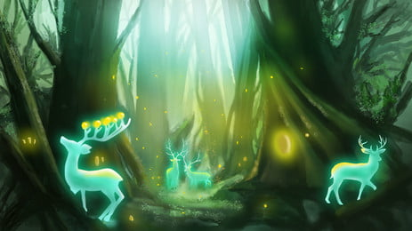 a bela paisagem da floresta hd pictures, A Floresta, A Luz Do Sol, Verde Imagem de fundo