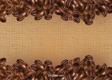 sprinkle on a piece of burlap coffee beans, Linen, Coffee, Beans Background image