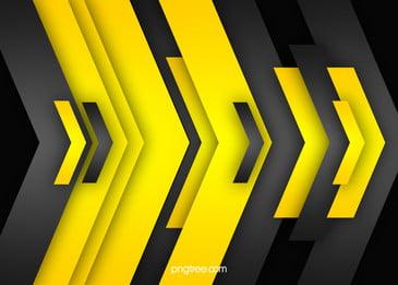काले  पीले ज्यामितीय वेक्टर पृष्ठभूमि, काले, पीले, ज्यामिति पृष्ठभूमि छवि
