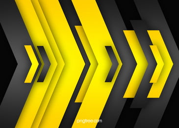 Black Yellow Geometric Vector Background, Black, Yellow, Geometry, Background image