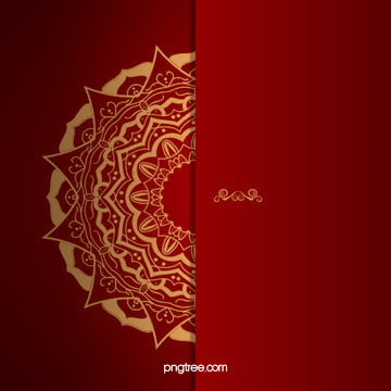 red wedding invitation vector background , Red, Golden, Wedding Background image