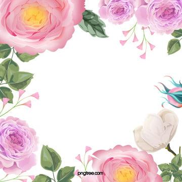 पानी के रंग का फूल जन्मदिन ग्रीटिंग कार्ड वेक्टर पृष्ठभूमि , पानी के रंग का, हाथ चित्रित, फूल पृष्ठभूमि छवि