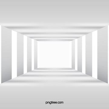 3 डी  सफेद गलियारे खंभे पृष्ठभूमि , 3 डी, सफेद, गलियारे पृष्ठभूमि छवि
