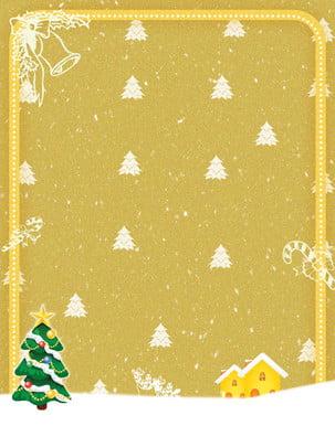 Giáng sinh nền vàng áp phích Màu Vàng Lãng Hình Nền