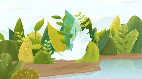 環保水資源背景, 環保, 水資源, 背景 背景圖片