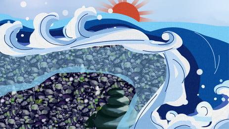 水の体 海 ライト 水 背景, デジタル, 海, 未来的 背景画像