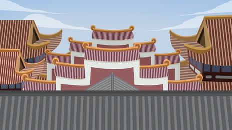 景観 空 構造 旅行 背景, 桟橋, 建築, ビル 背景画像