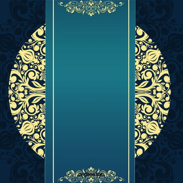 blue circular pattern golden background , Blue, Golden, Round Background image