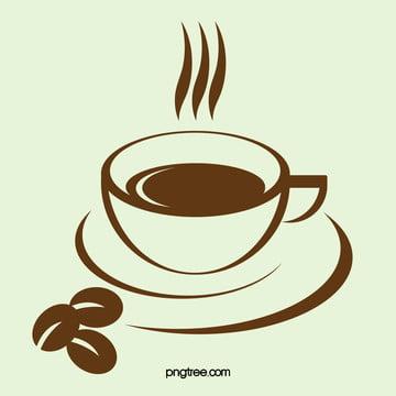कॉफी सिल्हूट पृष्ठभूमि चित्रण , कॉफी, सिल्हूट, पृष्ठभूमि पृष्ठभूमि छवि