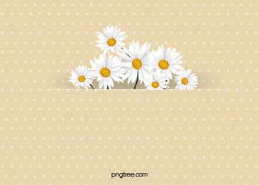 पीला सफेद डेज़ी फूल शादी के निमंत्रण कार्ड वेक्टर पृष्ठभूमि, पीले नीचे, सफेद, सफेद पृष्ठभूमि छवि