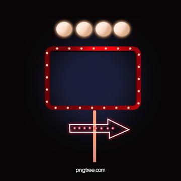 boate azul com luzes de néon sinal vector background , Azul, Gradiente, Excelente Imagem de fundo