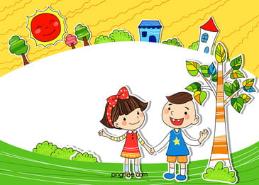 background cartoon school children, Cartoon, School, Child Background image